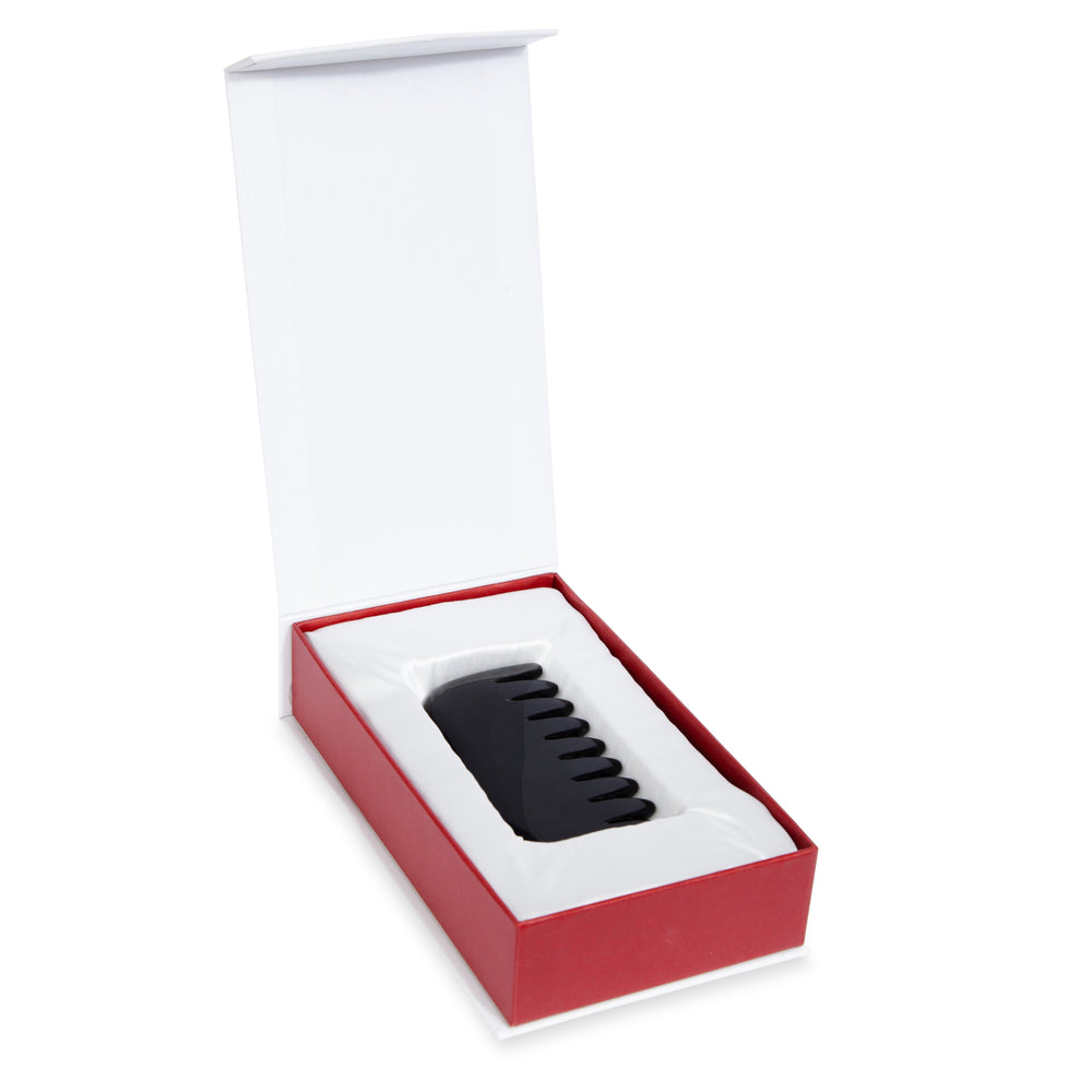 Tourmaline Crystal Comb - Natural Chemical Free Crystal in Signature Silk Lined Box
