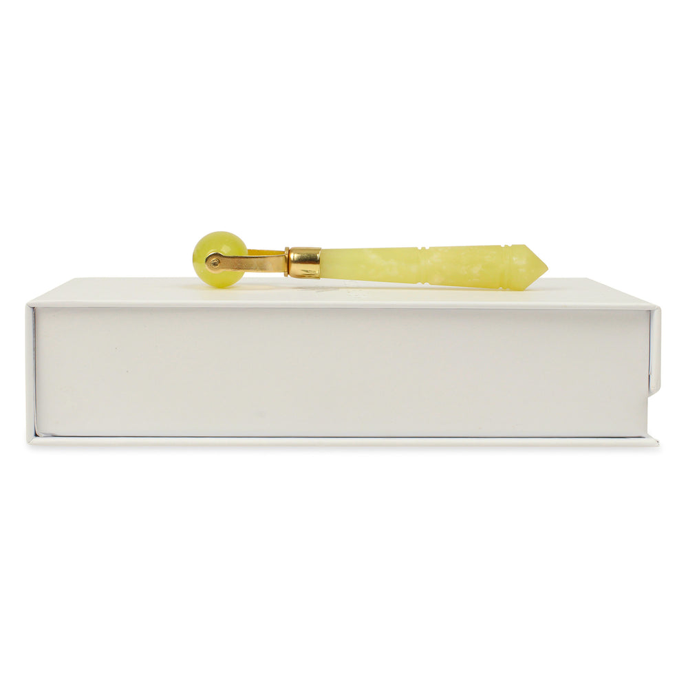 Small Jade Roller - Natural Chemical Free Crystal in Signature Silk Lined Box