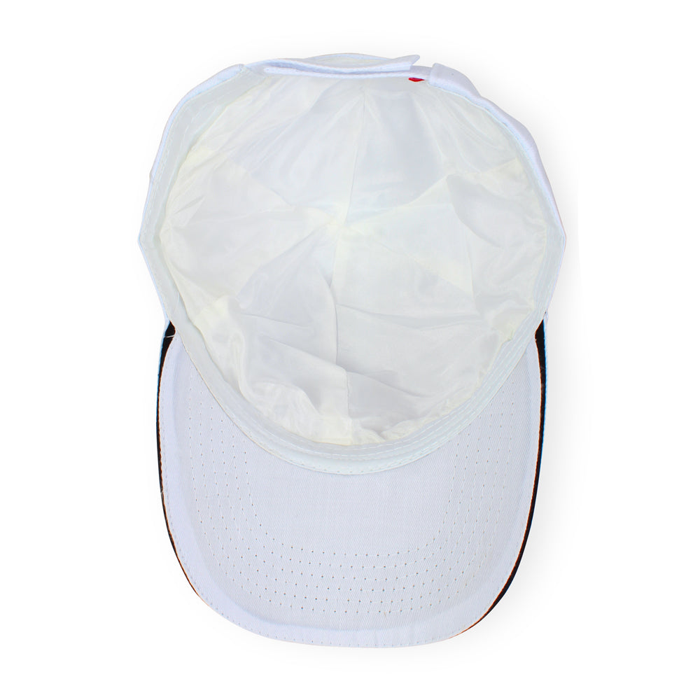 Pure Silk Lined Sports Cap- reduce damage to thinning hair, frizzy hair