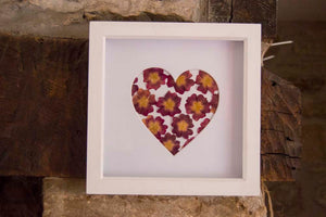 Framed Pressed Flower Art