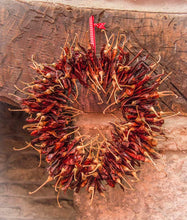 Long Dried Chilli Wreath