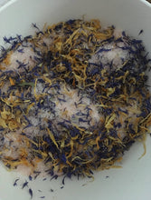 Set of 4 Cornflower and Calendula Bath Teas