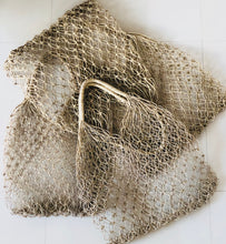 Straw Net Bag - Handwoven
