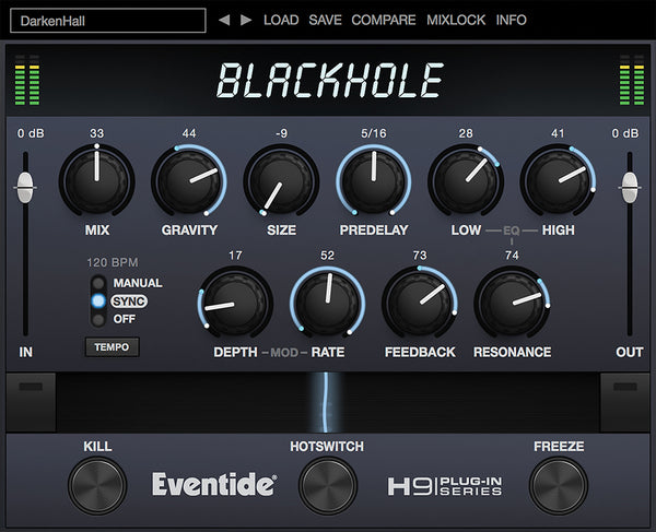 Eventide Blackhole® Reverb [download]