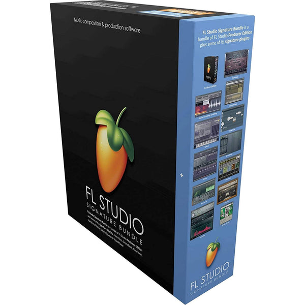 FL Studio 20 Signature Bundle [Mac/Windows download]