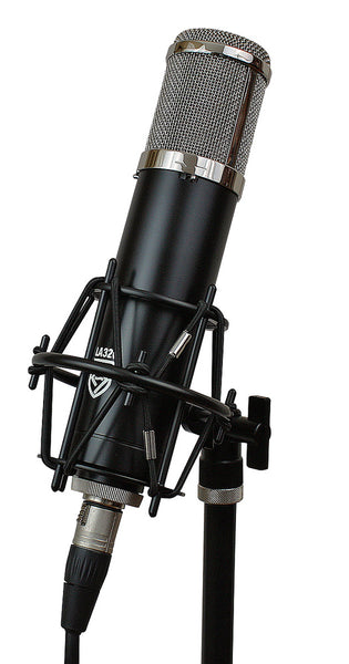 Lauten Audio Series Black LA-320 Large Diaphragm Vacuum Tube Condenser Microphone