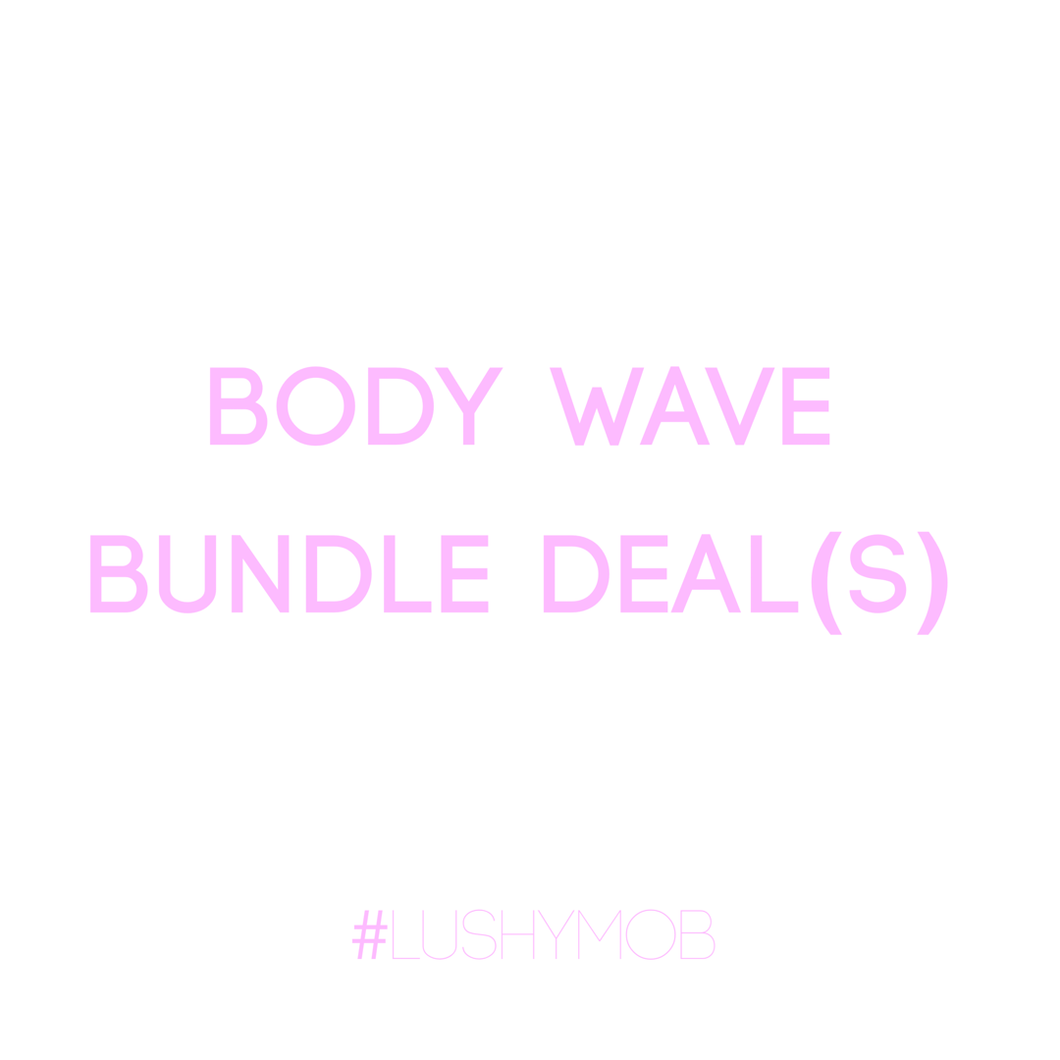 Persuasians Body Wave Bundle Deal