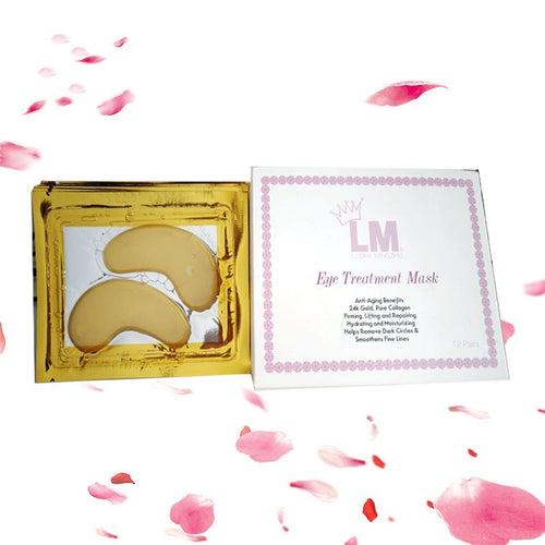 24k Gold Under EyeTreatment Mask
