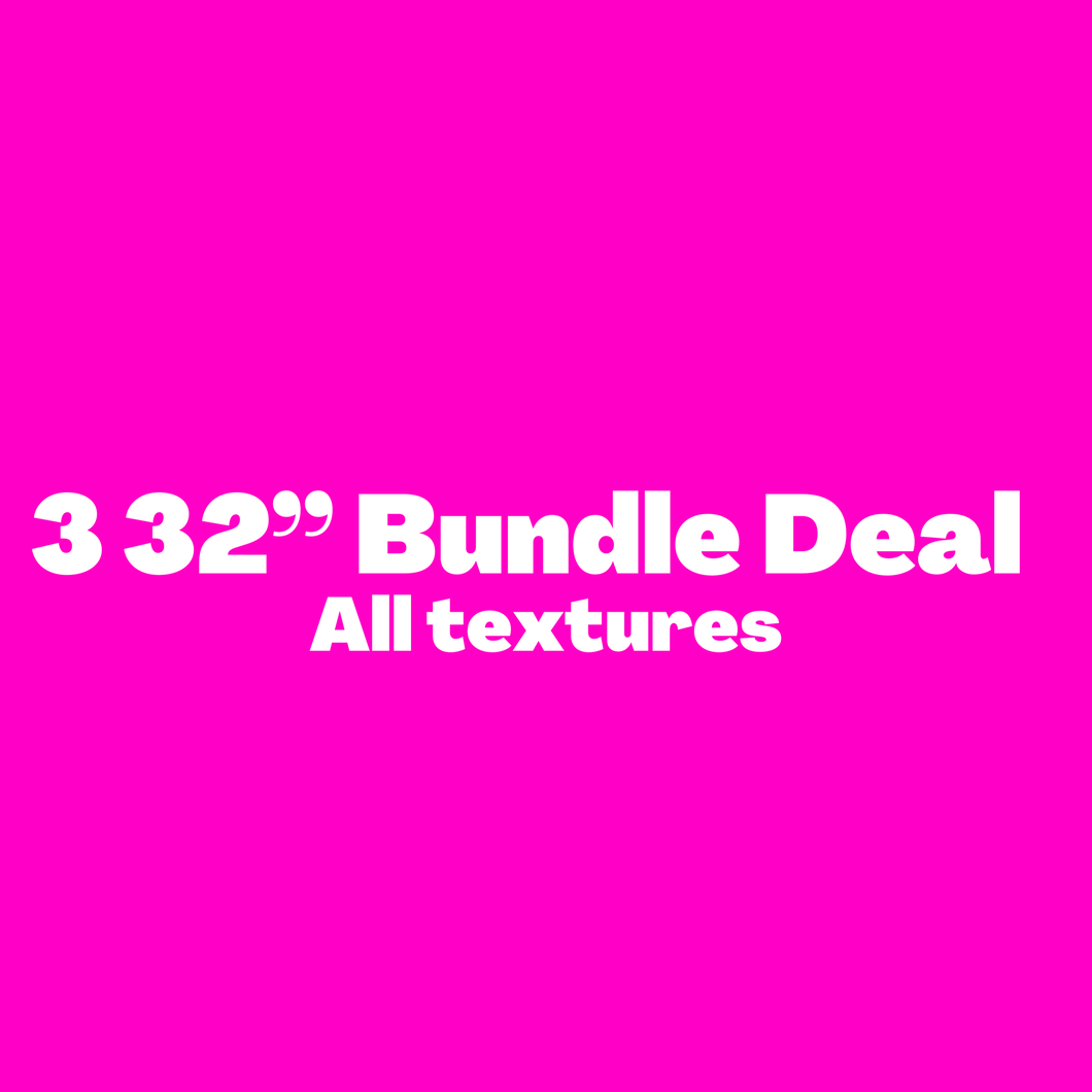 "3 32"" Bundle deal"