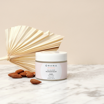 All-In-One Wonder Balm, a CBD skin care product