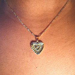 Shiny Heart Necklace
