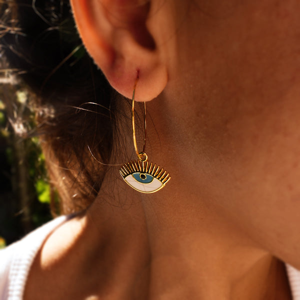 Eyes of Heaven Earrings