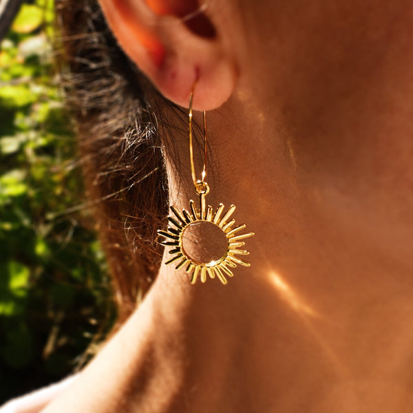 Shinning Sun Earrings