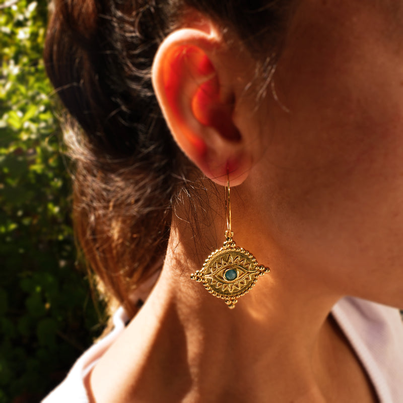 Eye of Horus Earrings
