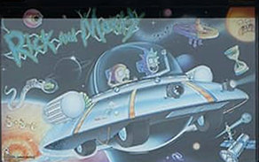 Rick & Morty Spooky Pinball Collection