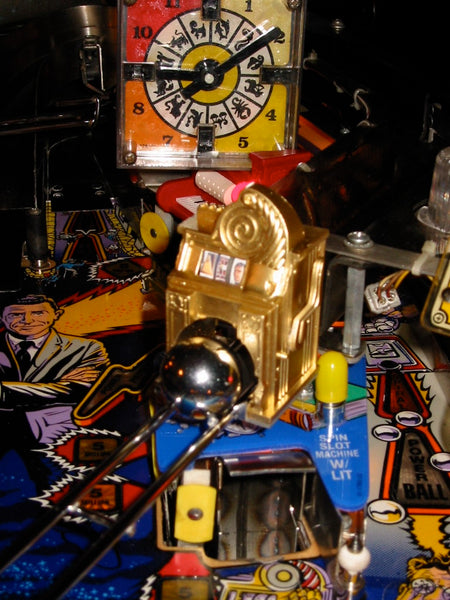 Twilight Zone Pinball Custom Slot Machine Mod! Lighted with spinning reels.