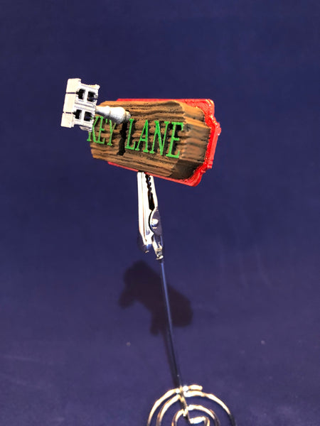 "API Houdini ""Key Lane Sign"" custom 3D Mod!"
