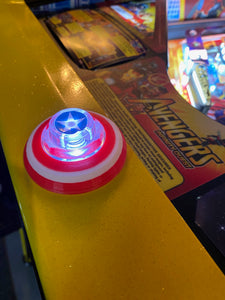 "Avengers Custom 3D ""Captain Shield"" Lockdown bar button Mod."