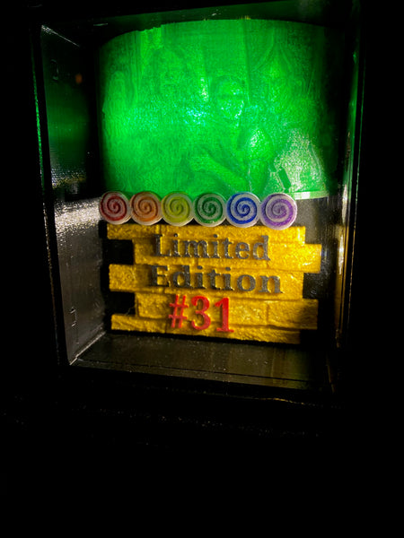 JJP Wizard of OZ Custom Illuminated coin door Shadow Box Mod