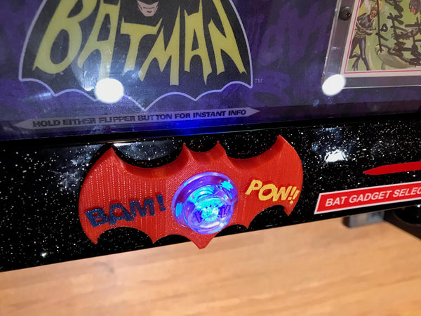 Batman 66 KaBoom Custom Lockdown bar Badge!