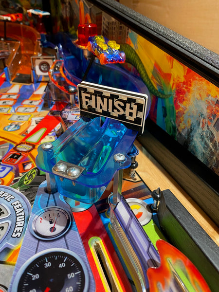 "API Hot Wheels ""Finish Line"" Custom 3D Ramp sign Mod."
