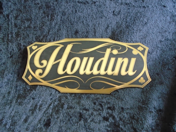 API Houdini Custom Houdini header Badge 3D engraved Mod!