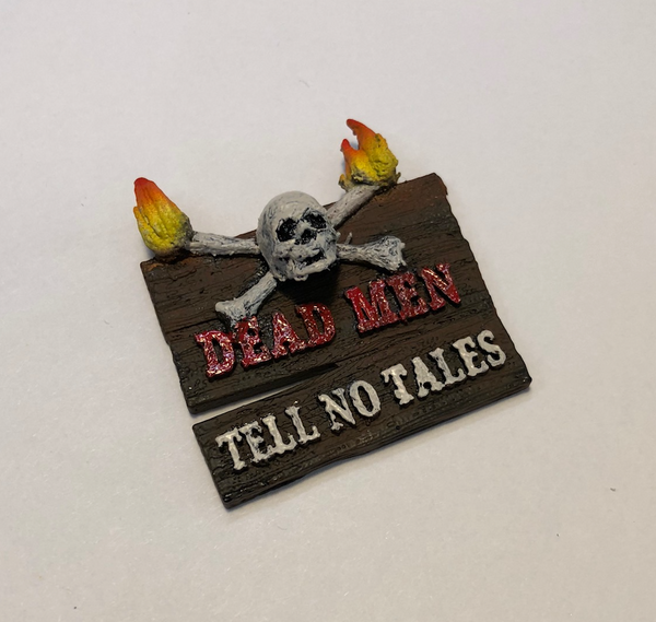 "JJP Pirates of the Caribbean ""Deadmen"" custom sign mod."
