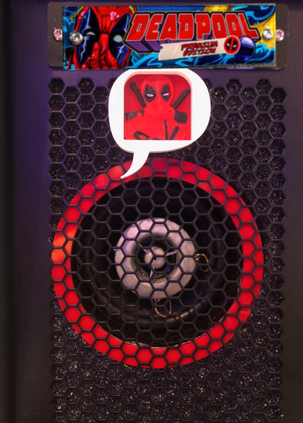 Deadpool Custom Speaker illumination kit 3D Boom!!