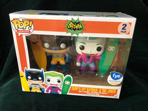 POP Batman 66 Surfing Batman and Joker