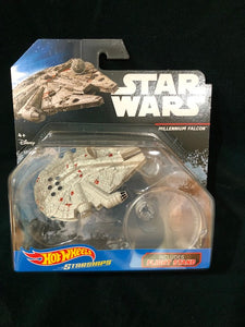 Star Wars Millennium Falcon ship. Hot Wheels NIB