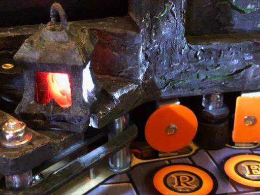 The Wizard of OZ Castle Lantern custom Spot lamp Mod!