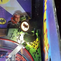 DocQuest Mini Bat-signal Interactive Game playfield mounted! Batman 66!