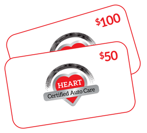 HEART GIFT CARDS - $50