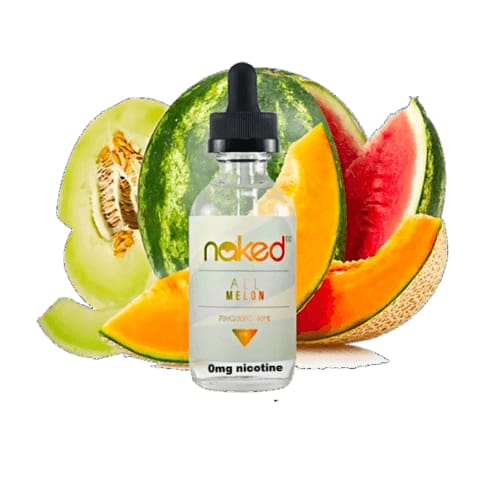 All Melon by Naked 100 E-liquid (60ML) Juice MrVapes Australia