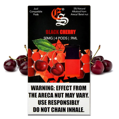 BLACK CHERRY EONSMOKE PODS 4 Pack