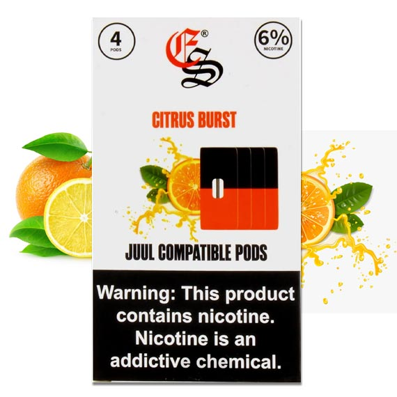 CITRUS BURST EONSMOKE PODS 4 Pack