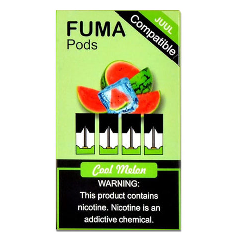 Juul Compatible COOL MELON FUMA PODS