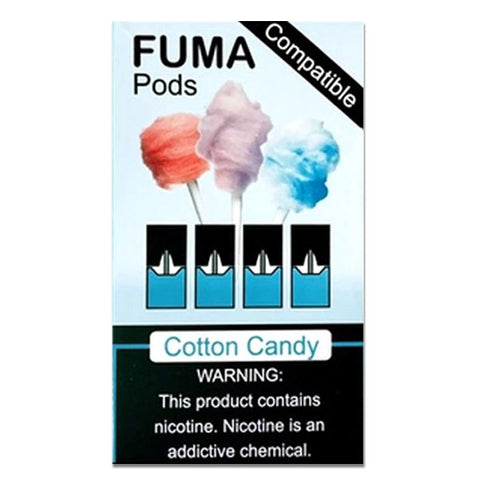 Juul Compatible COTTON CANDY FUMA PODS
