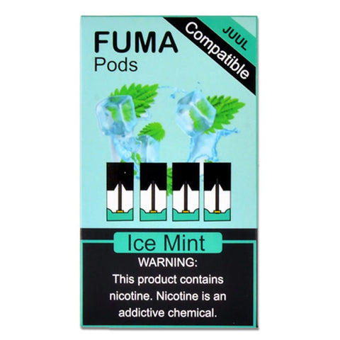 Juul Compatible ICE MINT FUMA PODS