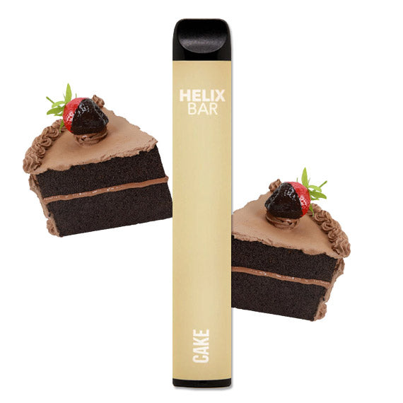 Helix Bar - Disposable Vape Device - Cake x 1