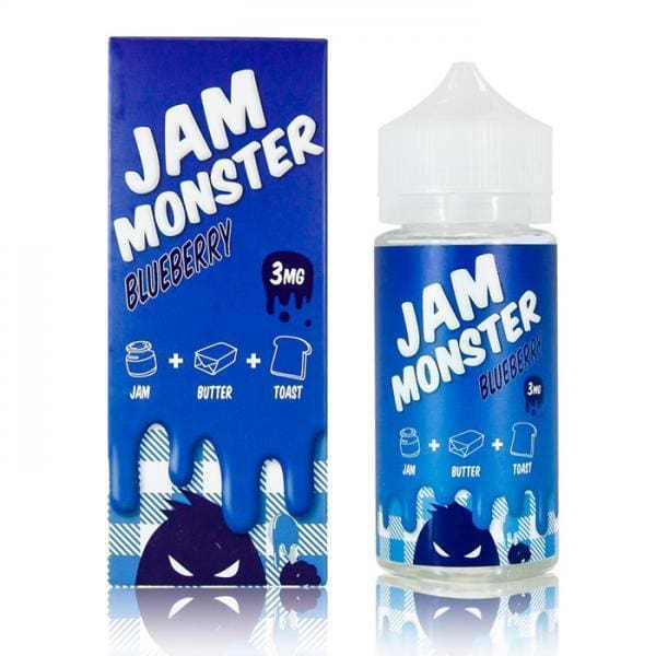 Jam Monster Blueberry E-liquid (100mL) Juice MrVapes Australia