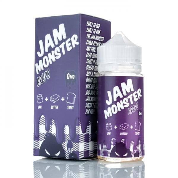 Jam Monster Grape E-liquid (100mL) Juice MrVapes Australia