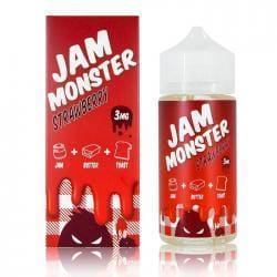 Jam Monster Strawberry E-liquid (100mL) Juice MrVapes Australia