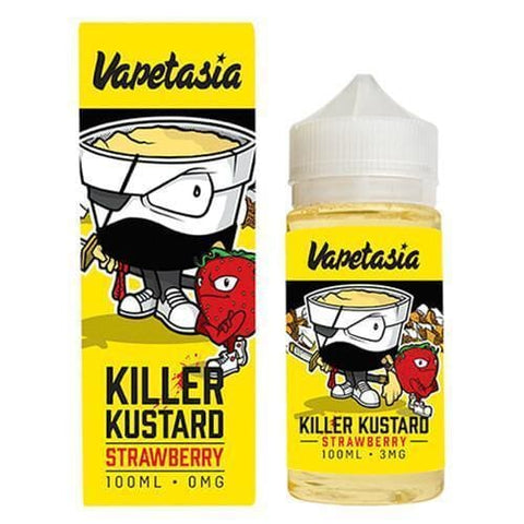 Killer Kustard Strawberry by Vapetasia - 100ml Juice MrVapes Australia