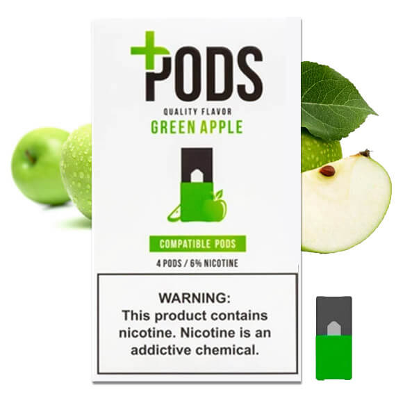 plus pods green apple australia