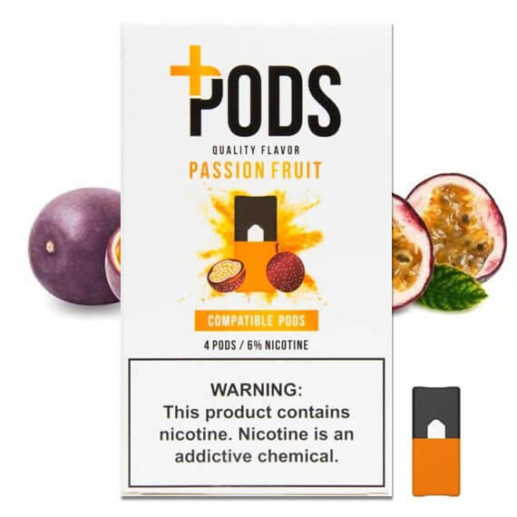 Passion Fruit - Plus Pods 4 Pack ePods Mrvapes Australia 1