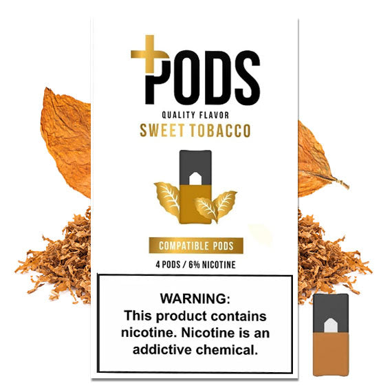 Sweet Tobacco 4 Pack - Plus Pods
