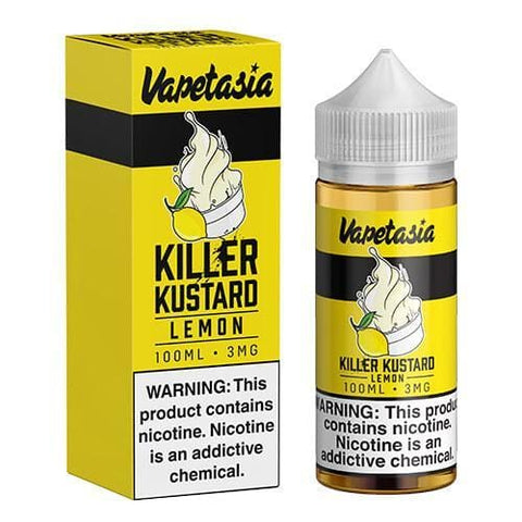 Vapetasia eJuice - Killer Kustard - Lemon eJuice MrVapes Australia