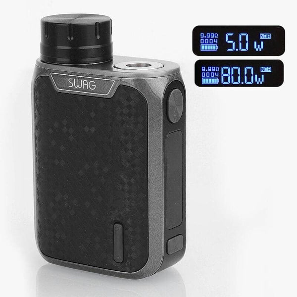 Vaporesso Swag TC Box MOD - Black starter kits MrVapes Australia