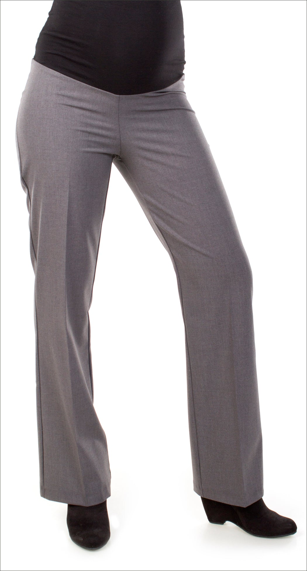 a44576e6ab4ed Charcoal Dress Pant – Nest and Sprout Maternity